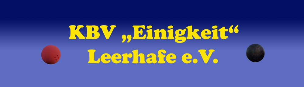 "KBV ""Einigkeit"" Leerhafe e.V."